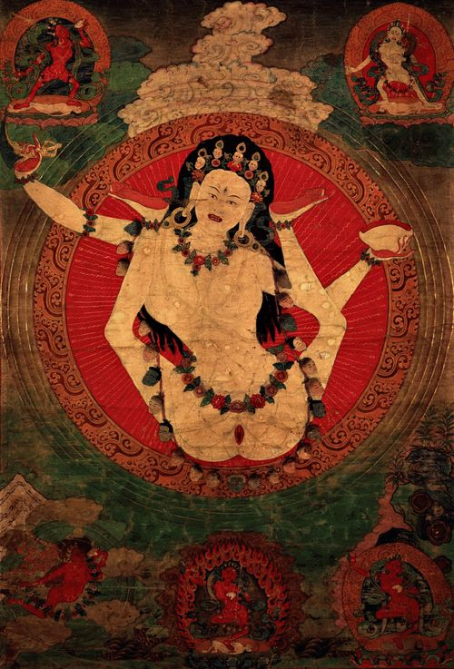 Sukhasiddhi, an eleventh century female meditation master, was a contemporary of Niguma and also a teacher of Khyungpo Naljor, who considered her to be his kindest guru. Her life demonstrates to us that age is not a factor when it comes to attaining enlightenment: she met her guru at age 61 and attained enlightenment soon thereafter
