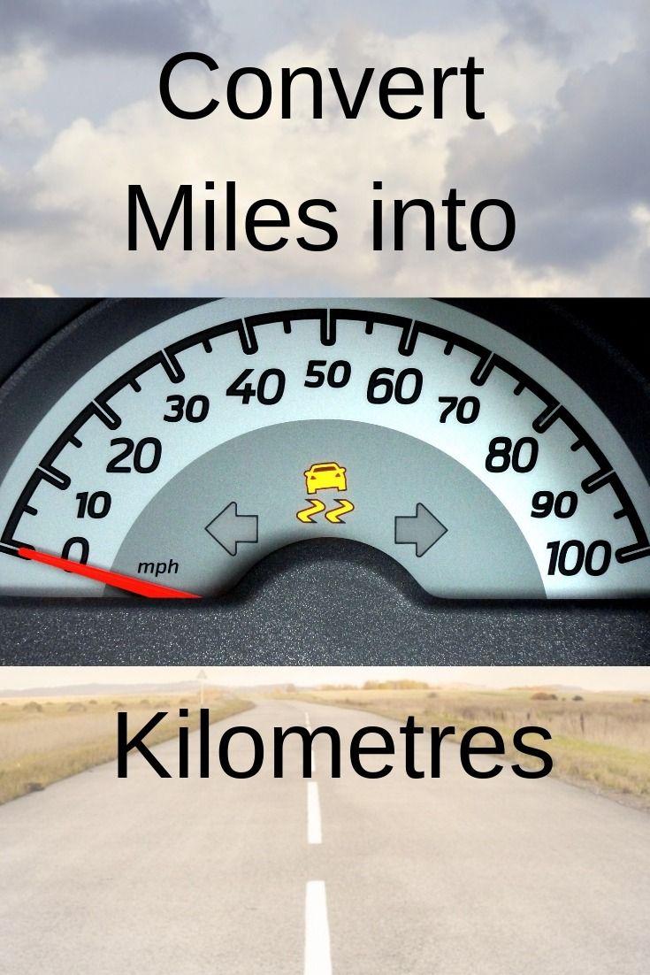 Convert Miles And Yards Into Kilometreetres Also 1 To 50 Mile Kilometre Conversion Chart