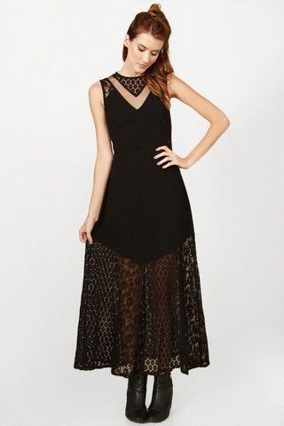 Rock in lace Maxi