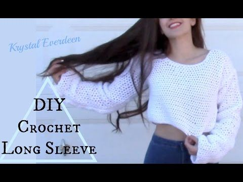 Tutorial part 1 Spring sweater one size for you with my frends diy - YouTube