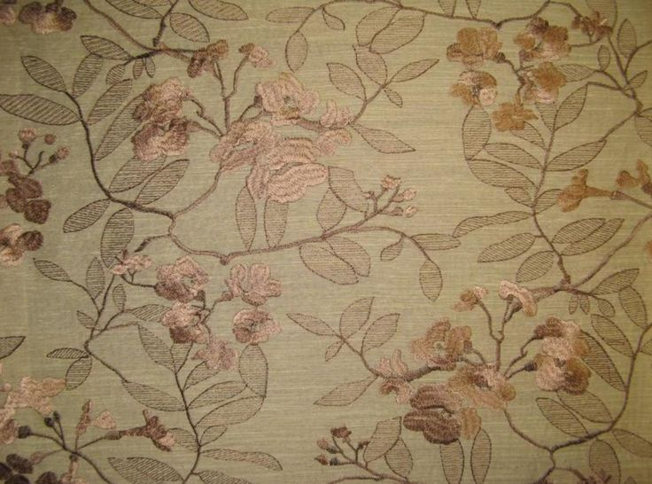 Sand Embroidered Polyester Linen look by fabulessfabrics on Etsy