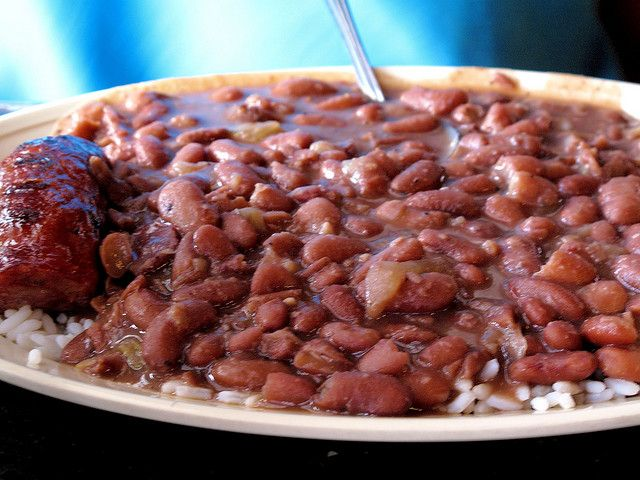 Red beans and rice: a New Orleans Monday tradition (photo by praline3001, from Flickr)