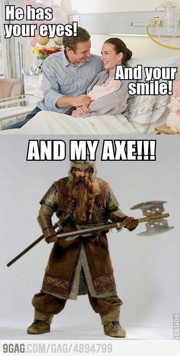 Can't. Stop. Laughing. LOTR Meme