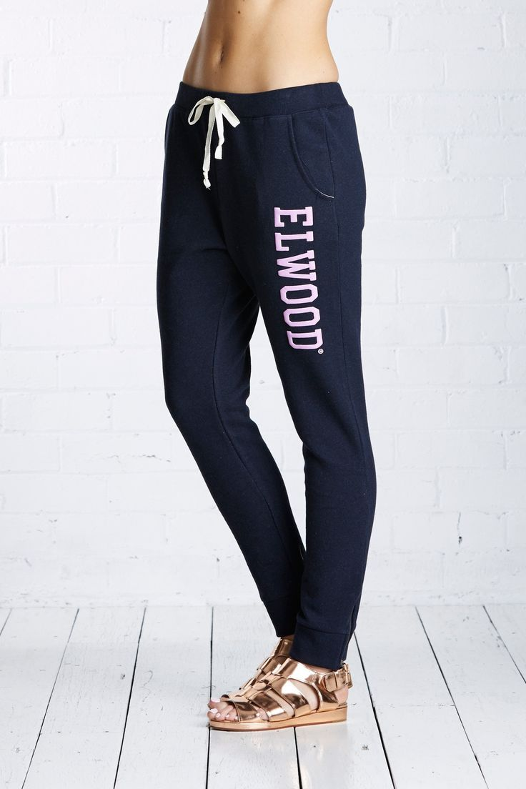 ELWOOD CLOTHING - Huff N Puff Trackpant Midnight Navy