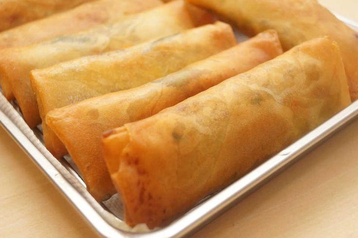 皮がパリパリ♩冷めてもおいしい『基本の春巻き』レシピ - macaroni