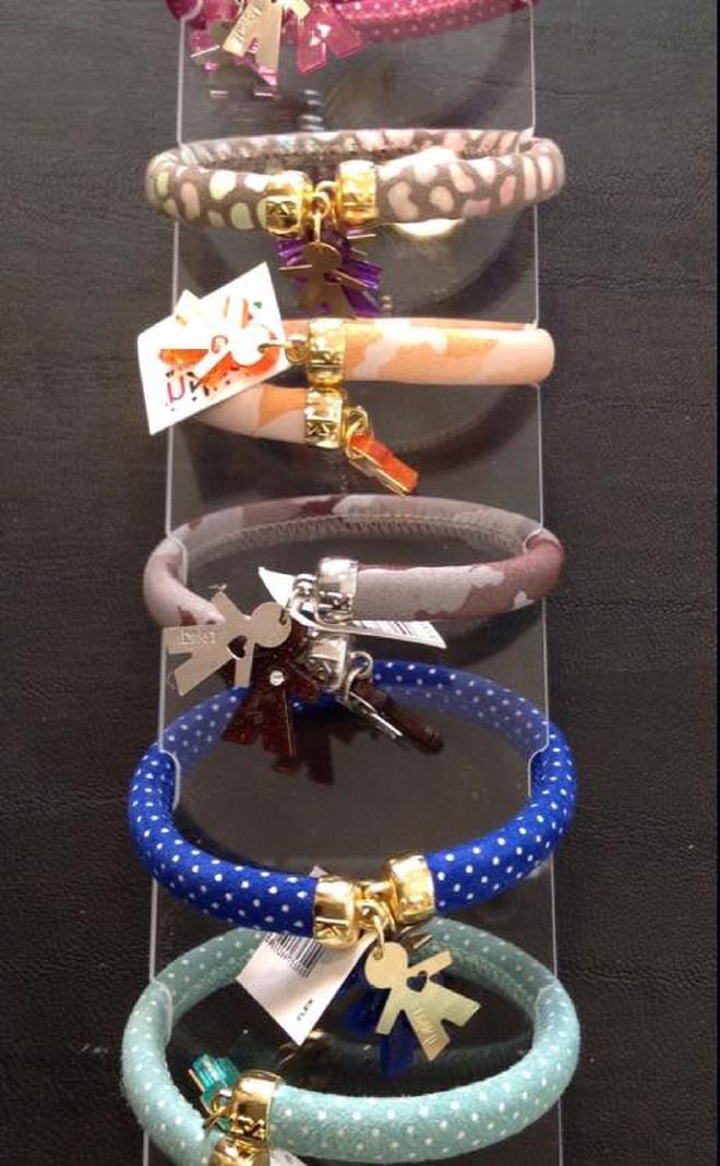 Bracciali Flex birikini in pelle