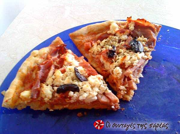 Ζύμη για πίτσα #sintagespareas #zimigiapitsa