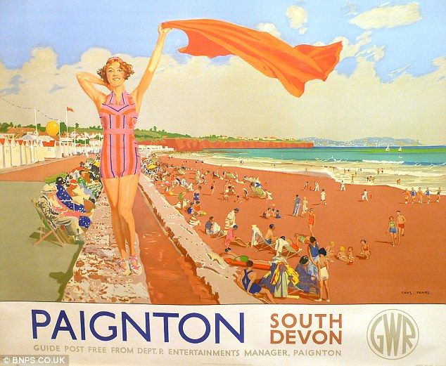 Paignton, South Devon. GWR.