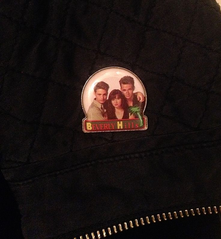 Dylan oder Brandon? Beverly Hills Button