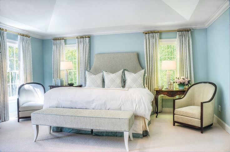 Patterson Headboard - Traditional Transitional Headboards - Dering Hall