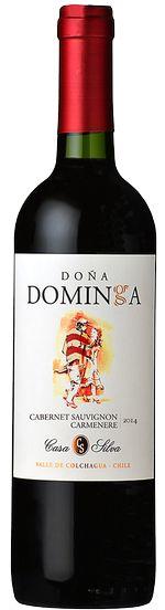 LBV International   Nos vins - Casa Silva, Dona Dominga, Cabernet carmenere 2013