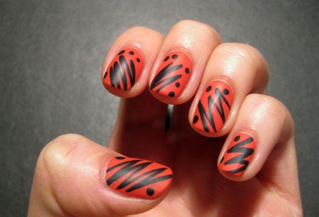 Рисунки на ногтях гелевыми ручками ::: onelady.ru ::: #nail #nails #nailart #manicure