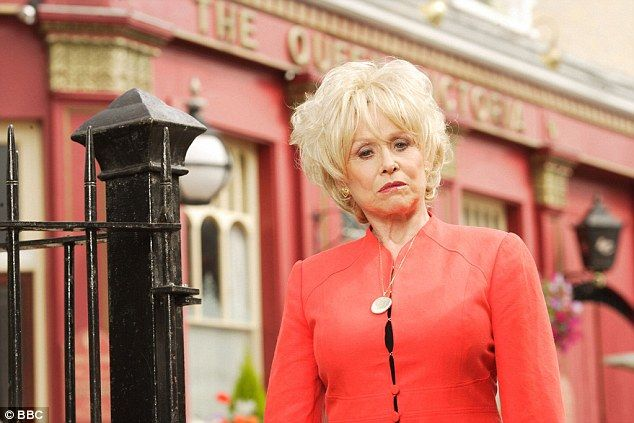 Barbara Windsor on character Peggy Mitchell: 'I realised it is time for me and the audience to say our final farewells to the lady I've loved for years'.