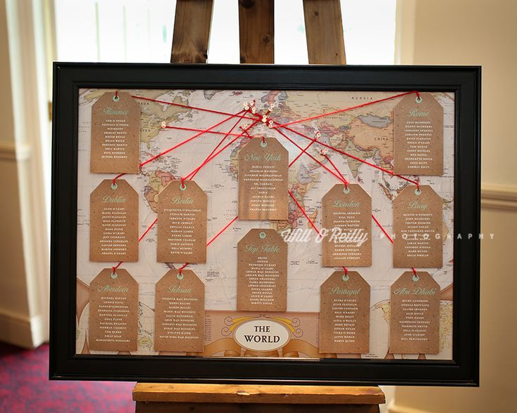 We LOVE Dernagh & Alireza table plan! Very vintage! #Appleberrypress #realbrides