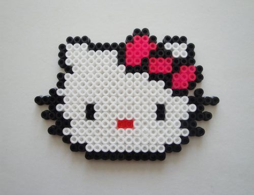 perles hama beads repasser hello kitty