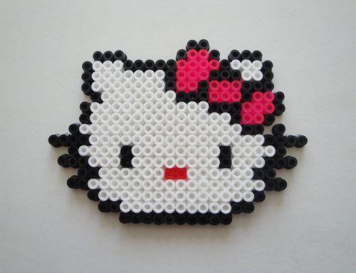 perles hama beads repasser hello kitty
