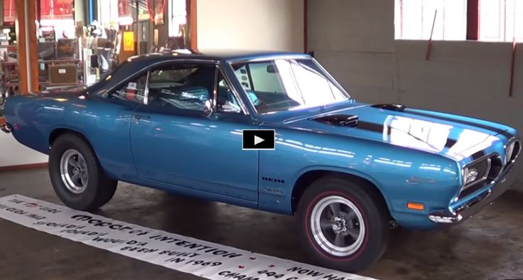 See the story of this nicely restored Sox & Martin 1969 Plymouth Barracuda packing the only known to exist Ball Stud Hemi motor.