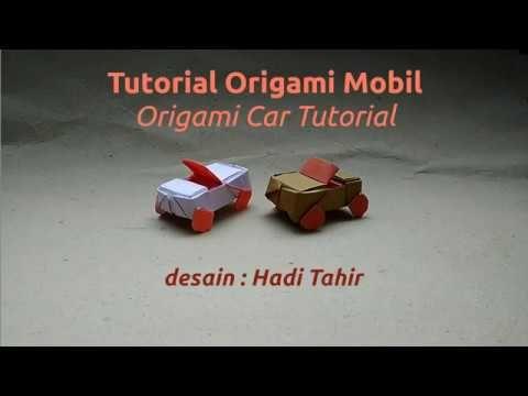 Origami Harri Hadi: Tutorial Origami Mobil/Car