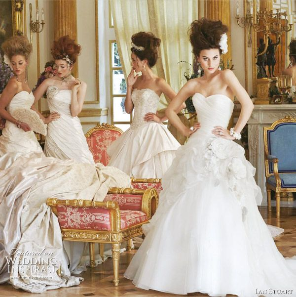 Ian Stuart Revolution Rocks! 2011 bridal collection - Lilibet, Coppelia wedidng gowns