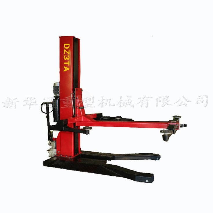 Lift hydraulic lift machine car accessories single post car lift