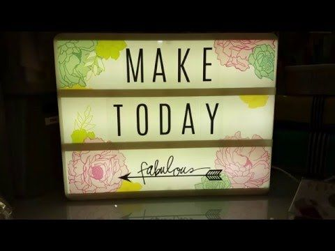 17 Best Images About Light Box On Pinterest Fake