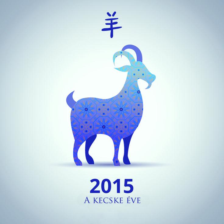 Kínai horoszkóp, kecske éve. 2015