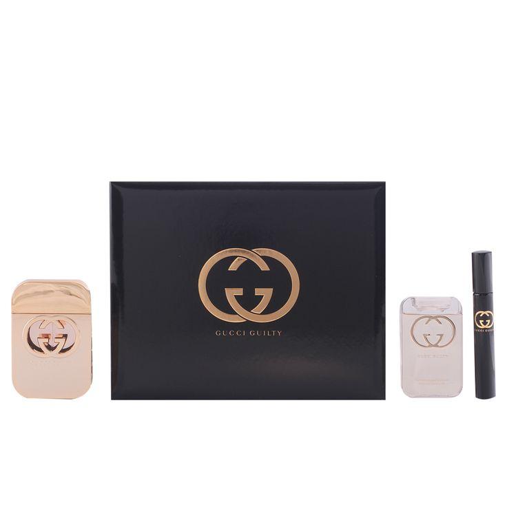 Gucci Guilty 3-Piece Set: edt Spray 75ml + Shower Gel 100ml + edt 7.4ml.  Perfumesdepot.co.uk