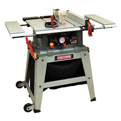 "Craftsman 10"" Table Saw with Laser Trac 21807 Craftsman http://www.amazon.com/dp/B00GSEJCBK/ref=cm_sw_r_pi_dp_J8tFub0NJJ9M5"