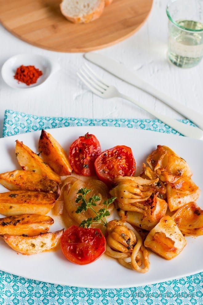 Sencillísima de preparar. El pimentón le aporta además de un sabor delicioso, un precioso color cobrizo.