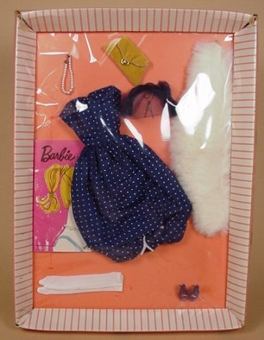Barbie outfits came this way...little booklet had sketches of other outfits you could buy