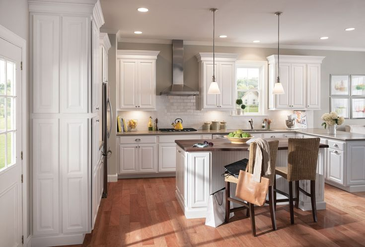 American Woodmark Kitchen Cabinets Home Depot | Kitchens | Pinterest |  Kitchens, American Woodmark Cabinets And Kitchen Design