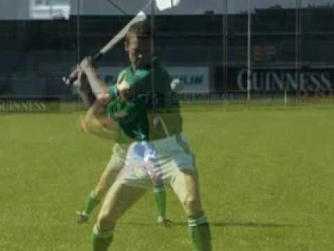 learn how to play Gaelic Games - Hurling strike from hand - YouTube