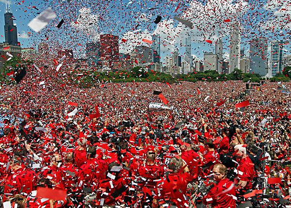 Chicago Blackhawks Stanley Cup 2015: Parade Route and Rally http://www.chicagonow.com/show-me-chicago/2015/06/chicago-blackhawks-stanley-cup-2015-parade-route-and-rally/