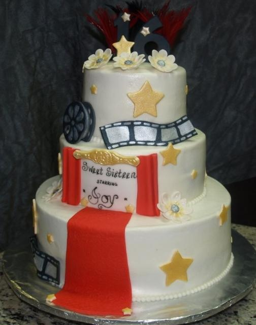Cake And Art In West Hollywood : 1000+ images about Hollywood/movie premiere cakes on ...
