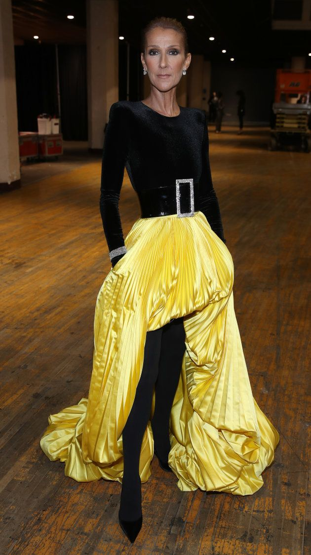 special sales attractive price coupon code Celine Dion in Alexandre Vauthier attends the Aretha ...