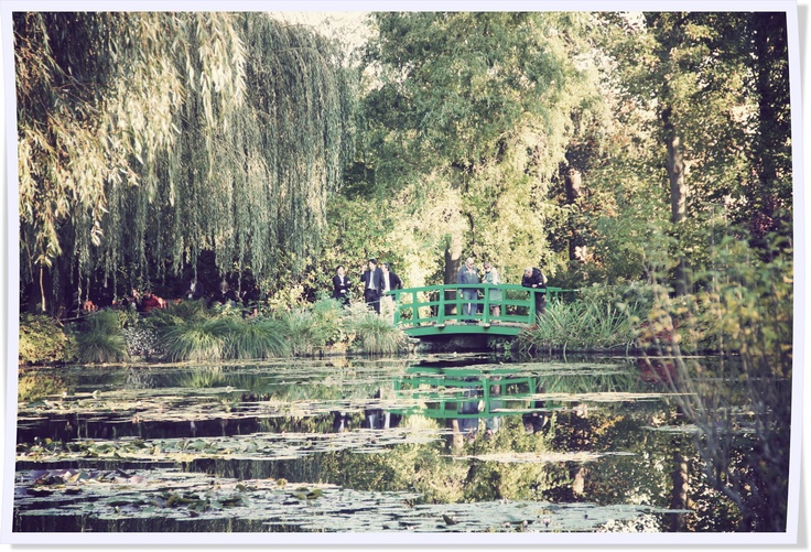 Claude Monet's garden in Giverny