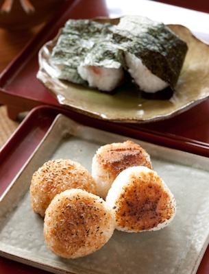 grilled rice balls 焼きおにぎり