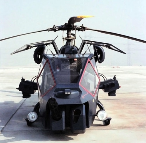 Blue Thunder Helicopter.........  I'll take 5.