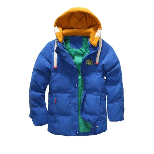 Boys Blue winter coats  Jacket kids Zipper jackets Boys thick Winter jacket high quality Boy Winter Coat kids clothes Do you want it Visit our store