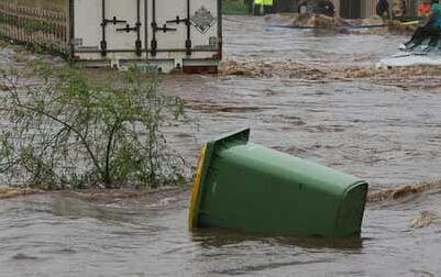 Air Sungai Meluap, Puluhan Rumah di Pawan Kebanjiran