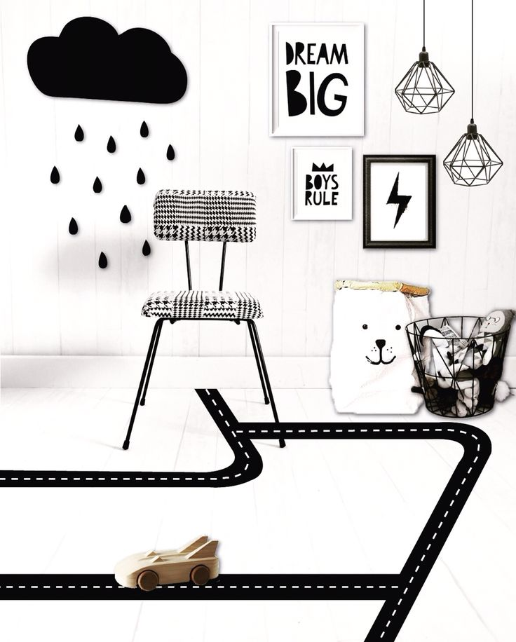 Monochrome inspiration board styling with our Houndstooth upholstered kids chair (only 4 available) tap for sources #kidsroominspo #childrensroom #childroom #playroom #monochromekids #kidschair #thelittlecollectionchairs