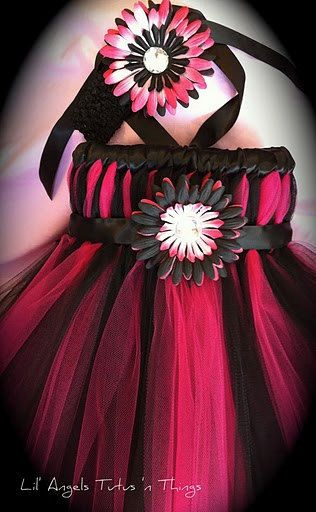 Learn how to make these tutu dresses...