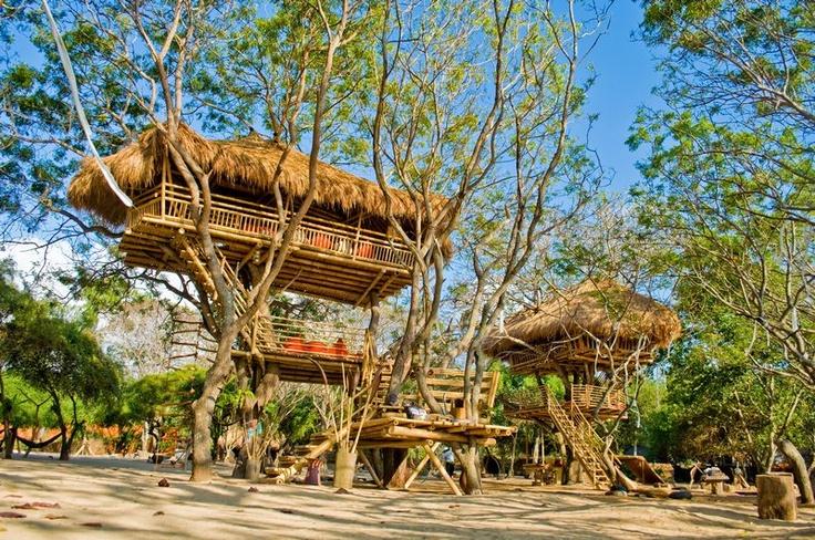 Tree House  The Pirates Bay , Nusa Dua Bali . Indonesia