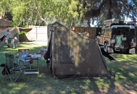 camping in style with Oz tent