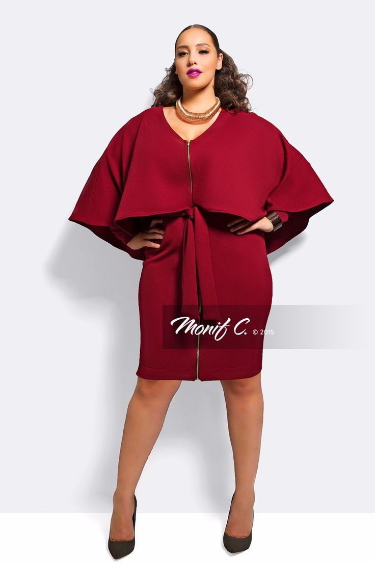 London Cape Dress Monif C Plus Size Clothing Shoes And