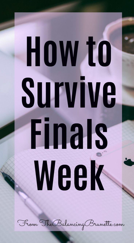 Tips for surviving finals week! #college #finalsweek #student #collegestudent #finals #school #tips