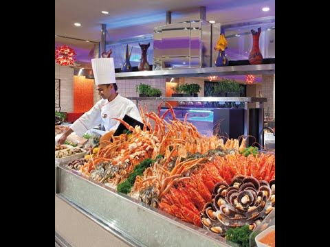 The Luxe Buffet: The best lobster buffet in Ontario Mills mall. - YouTube