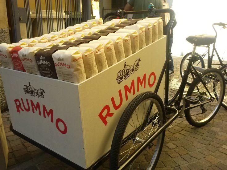 Pasta Rummo's customization for cargobike