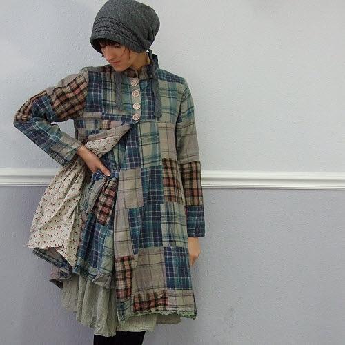 patchwork jacket: