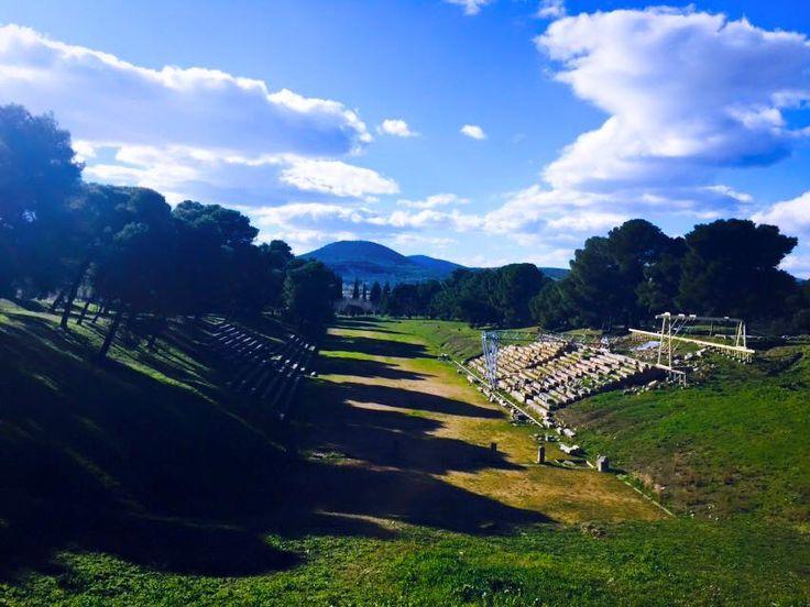 The archaeological site of #Epidaurus. Photo credits: @Wendalina Karagianni  #KeyTours